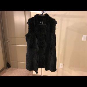 Love Token Genuine Fur Vest